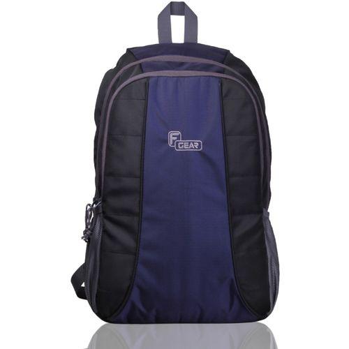 F Gear Carlton Lite 23 L Laptop Backpack(Black, Blue)