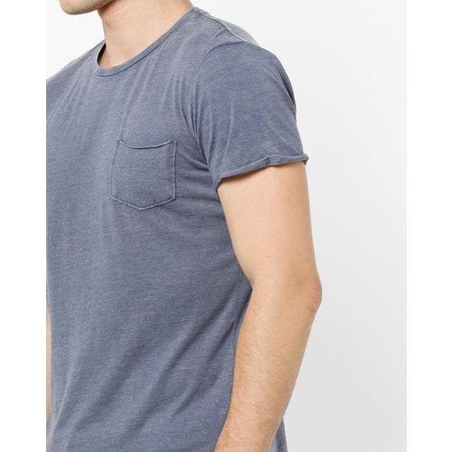 ALCOTT Slim Fit Crew-Neck Heathered Pocket T-shirt