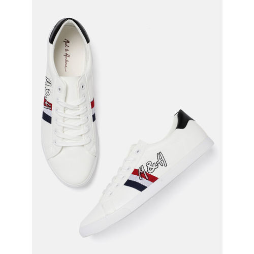 Mast & Harbour Men White Sneakers