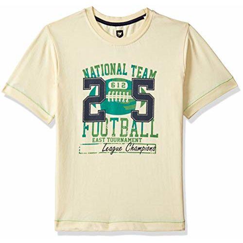 612 League Boys' Plain Regular Fit T-Shirt