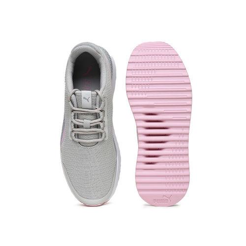 Puma Women Grey Pacer Next FS Running Shoes