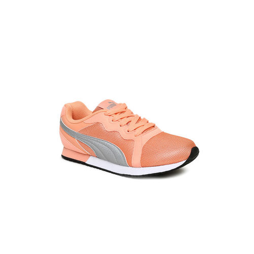 Puma Women Peach-Coloured Pacer IDP Running Shoes