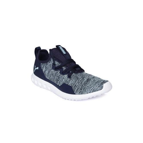 Puma Women Navy Blue Carson 2 X Knit Running Shoes