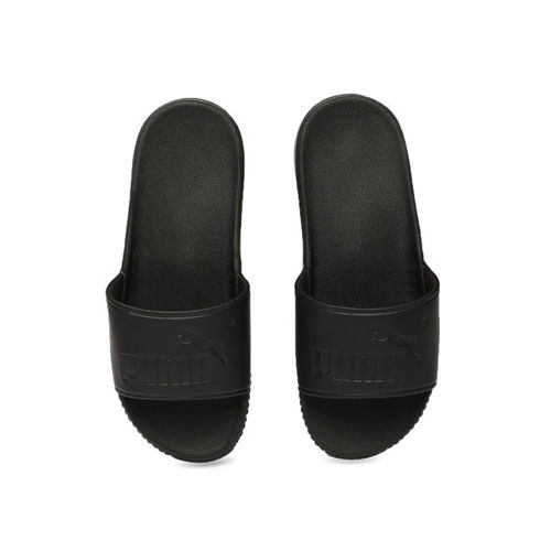 Puma Women Black Solid Sliders