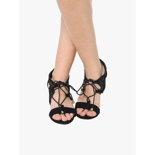 Elle Black Sandals