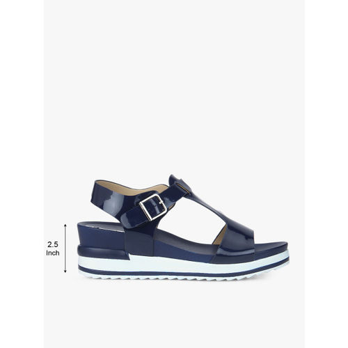 Elle Navy Blue Sandals