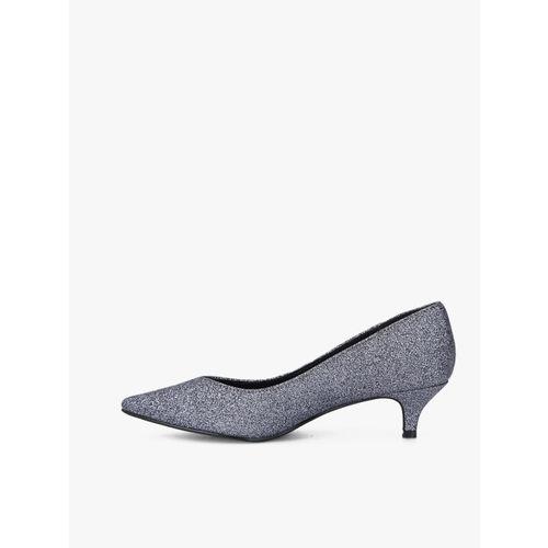 Elle Grey Glitter Belly Shoes