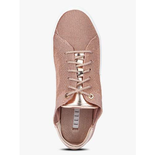 Elle Peach Casual Sneakers