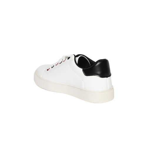 Elle Women White Sneakers