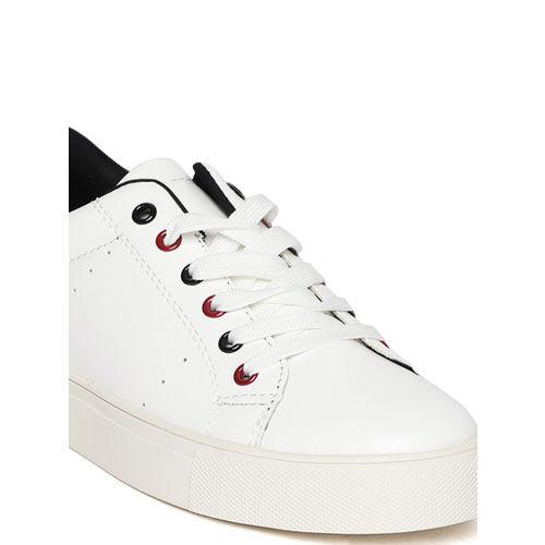 Elle Women White Sneakers