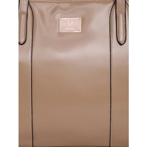 Allen Solly Women Beige Solid Shoulder Bag