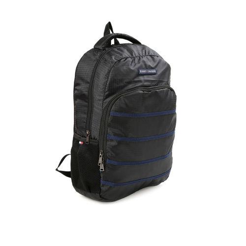 Tommy Hilfiger Unisex Black Biker Club-Colorado Backpack