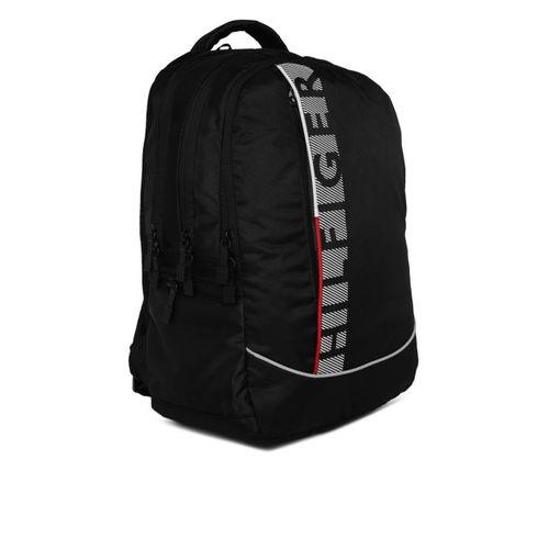 Tommy Hilfiger Unisex Black Backpack