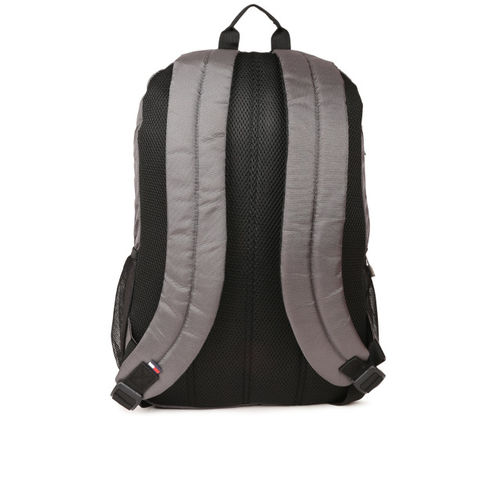 Tommy Hilfiger Grey Polyester Backpack