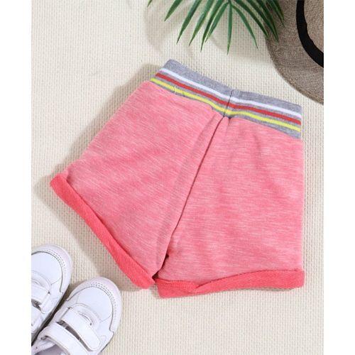 Little Kangaroos Shorts Unicorn Print - Pink