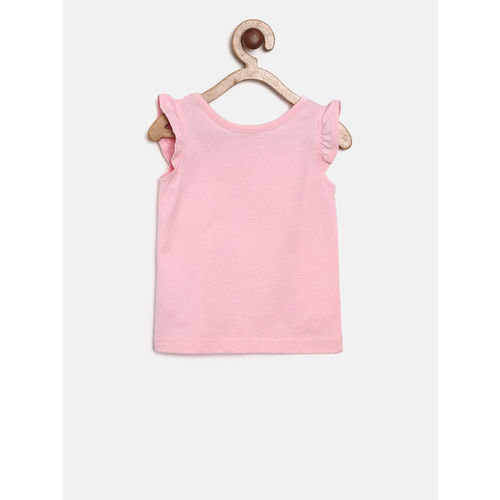 The Childrens Place Girls Pink Printed Top