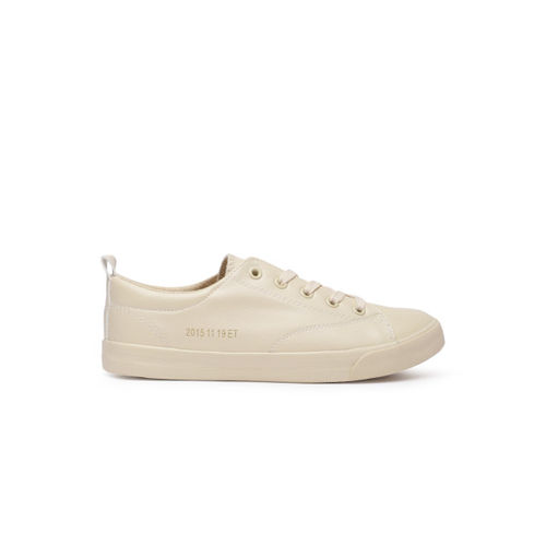 ether Women Beige Sneakers