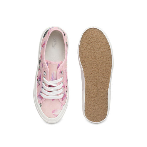 ether Women Pink Sneakers