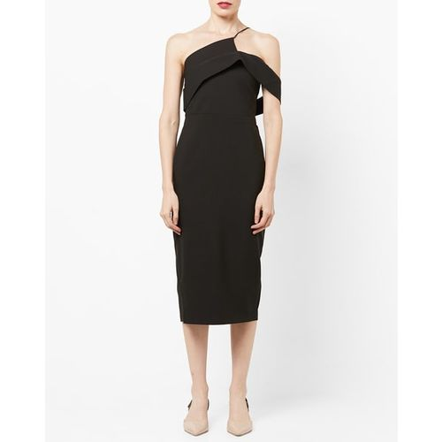TRENDYOL One-Shoulder Sheath Dress with Cutout