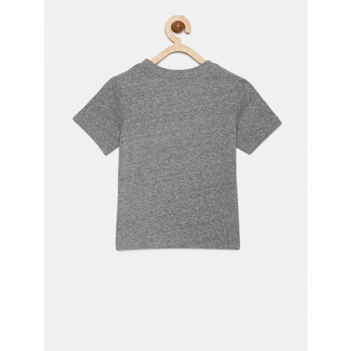 The Childrens Place Boys Grey Printed T-shirt