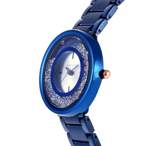 GIORDANO Women Blue Analogue Watch C2115