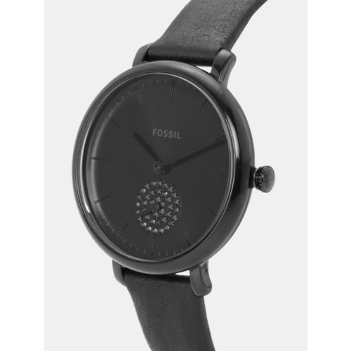 Fossil Women Black Analogue Watch ES4490_SOR