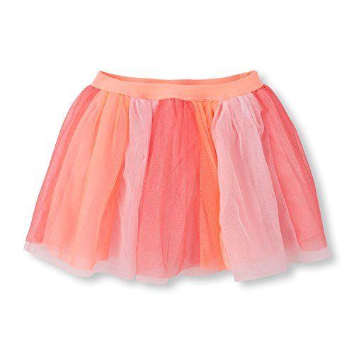 The Children's Place Girls' Glitter Mesh Skirt