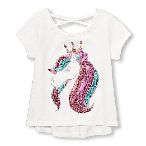 The Children's Place Baby Girls' Plain Regular Fit T-Shirt