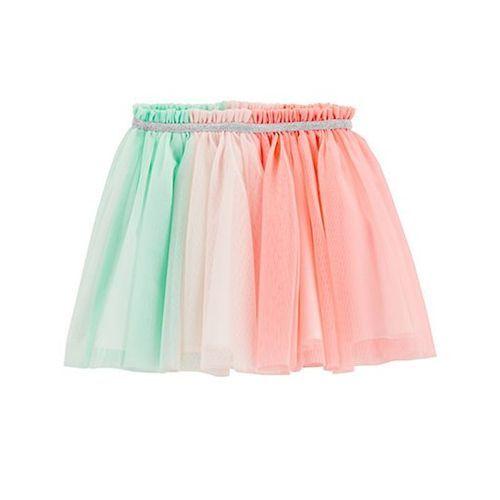 Carter's Tulle Tutu Skirt - Peach Green