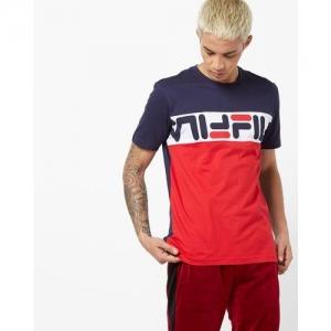 FILA Russ Colourblock Crew-Neck T-shirt