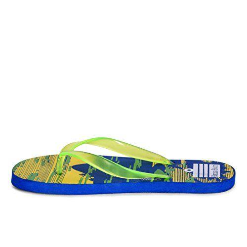 Bacca Bucci Men Blue Eva Flip Flops