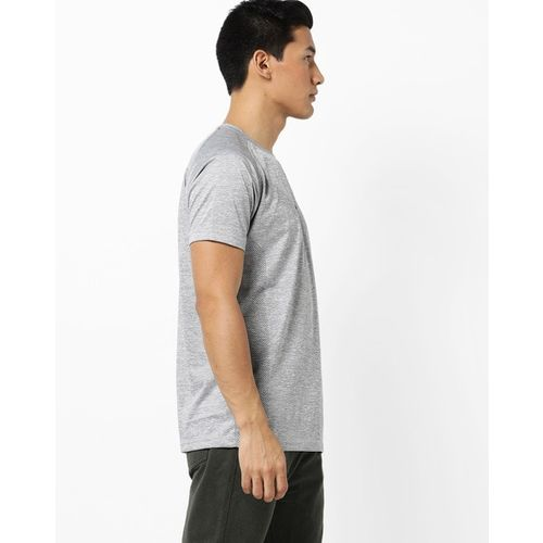 PROLINE Textured Crew-Neck T-shirt with Raglan Sleeves