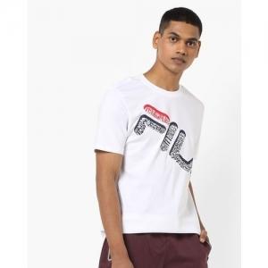 FILA Clark Typographic Print Crew-Neck T-shirt