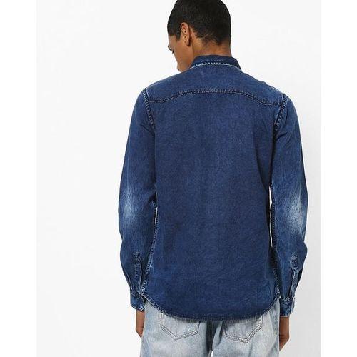SPYKAR Slim Fit Denim Shirt