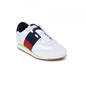 Tommy Hilfiger Women White Neptune 2A Sneakers