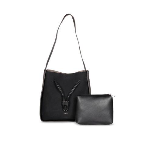 4ebf639191 Buy ESBEDA Black PU Solid Shoulder Bag With Pouch online ...
