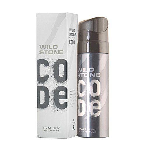 Wild Stone Code Platinum Body Perfume SprayForMen (120-ML)
