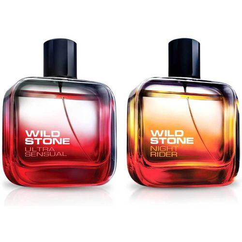 Wild Stone ULTRA SENSUAL PERFUME 50 ML+NIGHT RIDER PERFUME 50 ML Eau de Parfum - 50 ml(For Men)