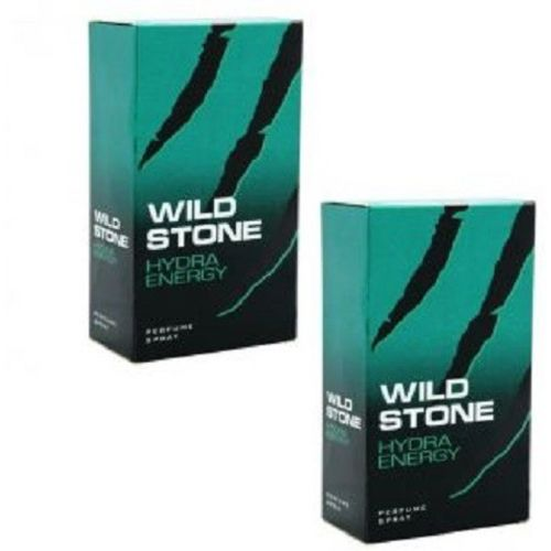 Wild Stone Hydra Energy 100 ml (Edp Pack Of 2) Eau de Parfum - 200 ml(For Men)