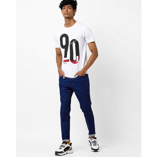 Jack & Jones Numeric Print Crew-Neck T-shirt