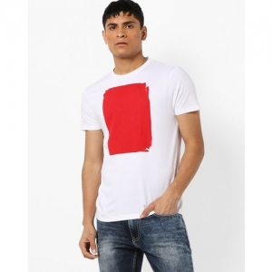 AJIO Knitted Crew-Neck T-shirt