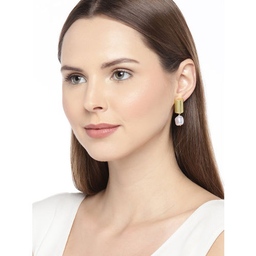 Pipa Bella Clarion Earrings Embellished With White Swarovski Pearls
