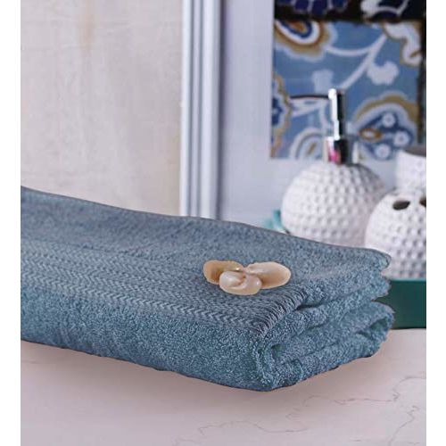Bombay Dyeing Tulip 450 GSM Cotton Bath Towel - Large, Charcoal