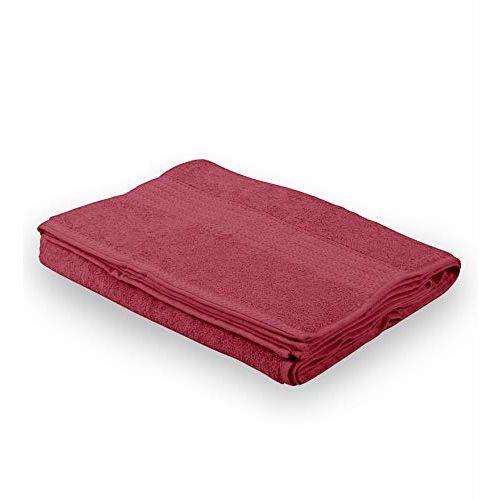 Bombay Dyeing Tulip 450 GSM Cotton Bath Towel - Large, Burgandy
