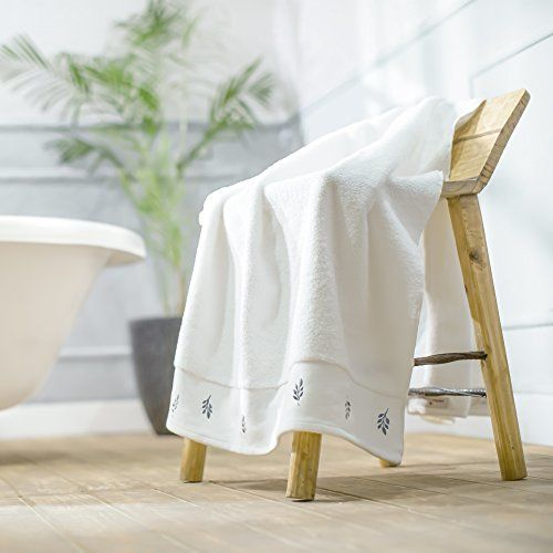 Swiss Republic Bath Towels Set- Rivera Collection 600 GSM Zero Twist 100% Ring Spun Extra Soft Cotton with Quick Dry and Double Stitch line.ro Twist Made wi