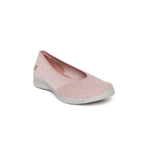 3b89bcea51ecd Buy Skechers Women Pink Wave Lite My Dear Slip-Ons online ...