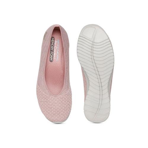 71f876bbce3e9 Buy Skechers Women Pink Wave Lite My Dear Slip-Ons online | Looksgud.in