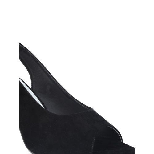 Shoetopia Women Black Solid Heels