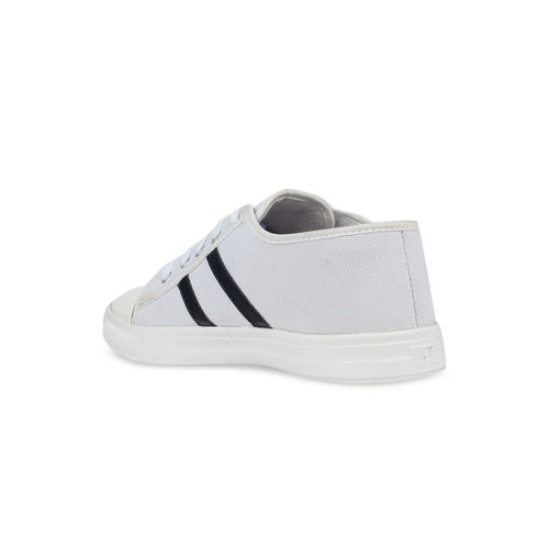 Shoetopia Women White Sneakers