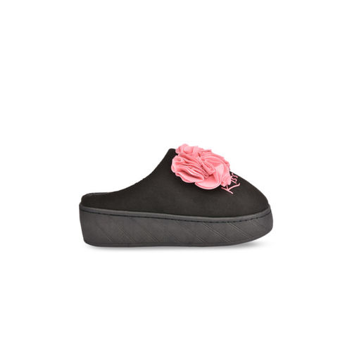Shoetopia Women Pink Suede Slip-On Sneakers